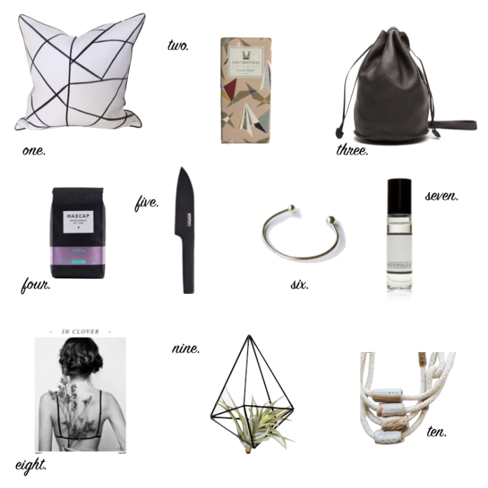 Holiday Gift Guide  X  2014 // Keeping Willow